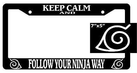 Amazon.com: BIN SHANG Naruto Keep Calm and Follow Your Ninja ...
