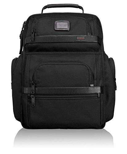 (TUMI - Alpha 2 T-Pass Business Class Laptop Brief Pack - 15 Inch Computer Backpack for Men and Women - Black)