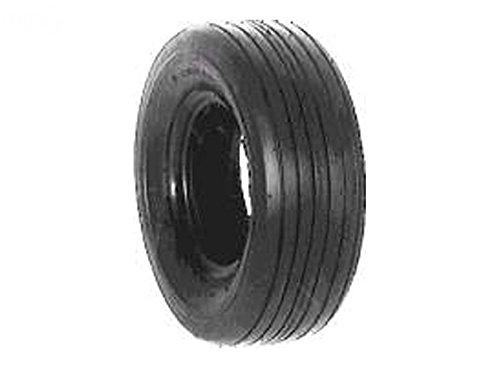 Rotary # 7022 Lawnmower Tire 13 x 500 x 6 Rib Tread Tubeless 2 Ply Carlisle Brand 2 Ply Rib Tread