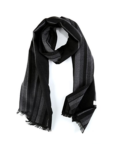 Men Scarf, Faurn Winter Fall Plaid Stripes Long Cashmere Pashmina Feel Warm Scarves