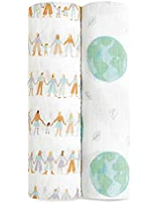 aden + anais Classic Muslin Swaddle Blanket 2 Pack