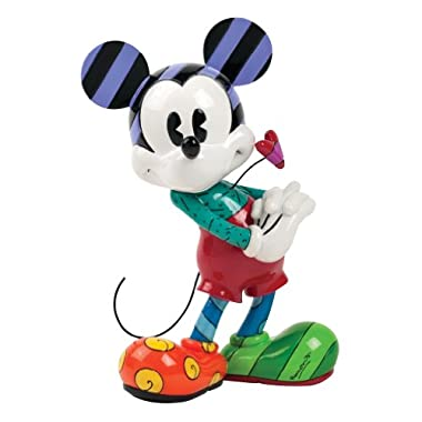 Enesco Disney by Britto Retro Mickey by Britto Figurine, 8.125-Inch