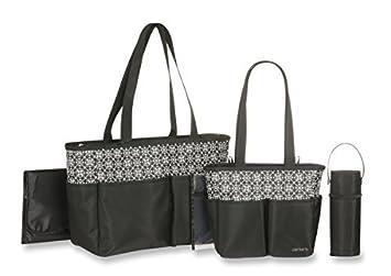 Amazon.com : Mini Geo Imprimir 5 piezas bolsa de pañales Set ...