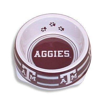 Sporty K9 Collegiate Texas A&M Aggies Pet Bowl, Small