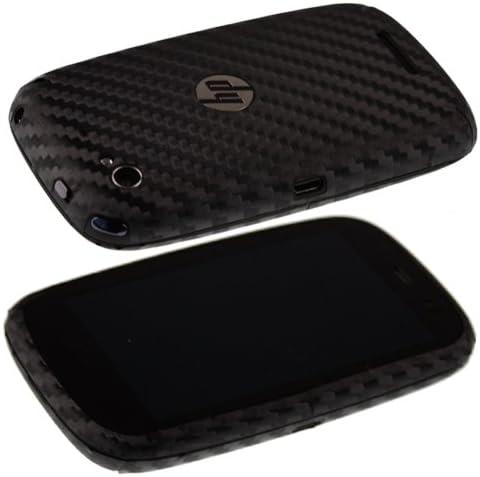 Skinomi TechSkin Carbon Fiber Skin for HP Pre 3 with Anti-Bubble Clear Film Screen Carbon Fiber Full Body HP Pre 3 Screen Protector