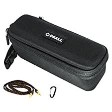 DSALL sewui Hard Case Travel Bag for Anker Sound Core/Sound Bot SB571 Bluetooth Speaker includes Audio Cable and Carabiner