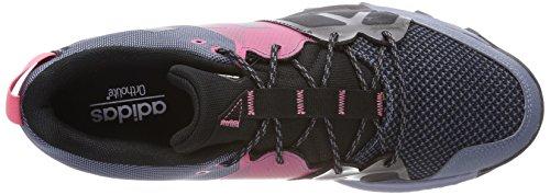 adidas Damen Kanadia 8.1 TR Traillaufschuhe Grau (Raw Steel S18/off White/real Pink S18 Raw Steel S18/off White/real Pink S18)
