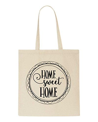 Sweet Shopper Bag Beige Statement Two Design Home Family Tote Circular q4AFa8d