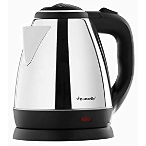 Butterfly EKN 1.5-Litre Water Kettle (Silver with Black) 1