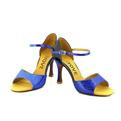T de Plata Zapatillas para de Q Plata de T Baile profesión Mujeres BqzrxPB