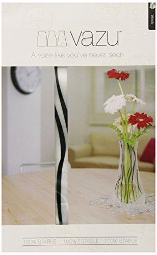 Vazu Expandable Clear Flower Vase - Weedo