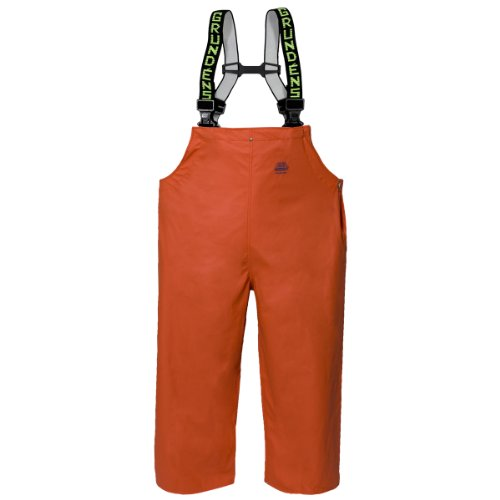 Pvc Bib Pants - Grundéns Petrus Men's HD 16 Bib Pant, Orange, 3X-Large