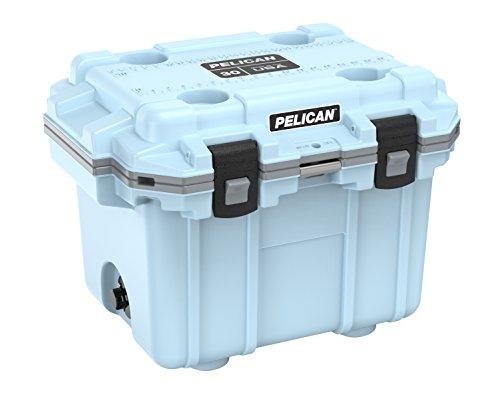 Pelican Elite 30 Quart Cooler Light Blue