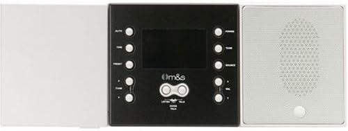 Remote Scan Master Volume White DMC1RS M/&S Systems DMC Intercom Room Station