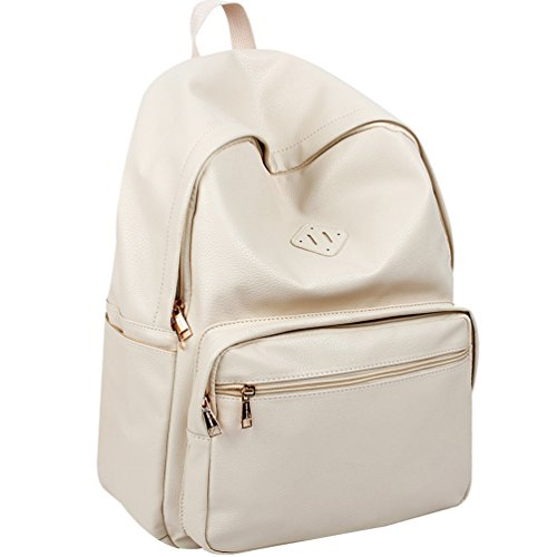 ab1feae68d Copi Women s Simple Design Unisex Fashion Casual Daypacks School Backpacks