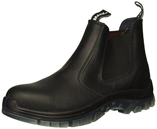 SAS Safety E93811121 Mack Tradie Boots, USA 11.5, Black