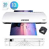 Crenova 13 Inches Laminator A3 with Paper Cutter