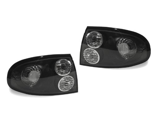 (Black Housing Clear Lens Tail Lights by DEPO fit for 2004-2006 Pontiac GTO Monaro V8)
