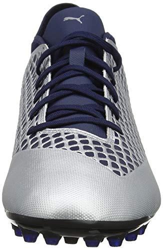 Hombre Fútbol Future Plateado 04 2 4 Para Zapatillas De peacoat Mg puma Puma Silver 1x468wZYqq