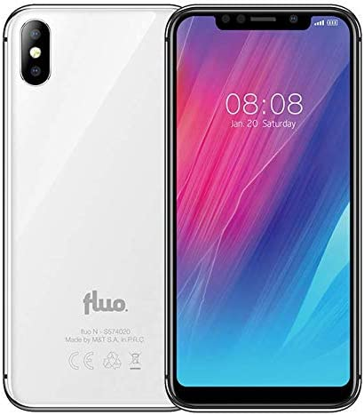 fluo N Dual Sim - Smartphone (3 GB de RAM, 32 GB, Android 8.1 ...