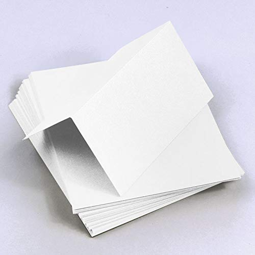 (Metallic Crystal Folded Place Cards, Stardream, 105lb, 25 Pack)