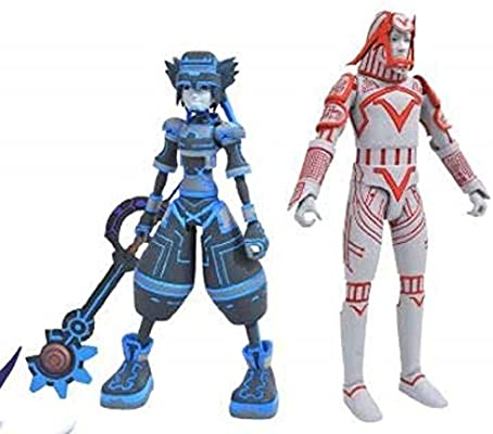 Kingdom Hearts Select 7 Inch Figure Series 3 Space Paranoids Sora with Sark