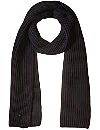 Armani Jeans Mens Pure Merino Wool Knit Scarf