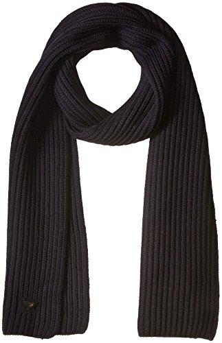 Armani-Jeans-Mens-Pure-Merino-Wool-Knit-Scarf