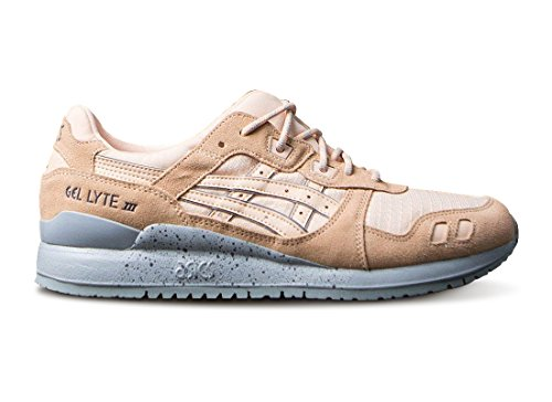 Asics Tiger Mens Gel-lyte Iii Sneakers Sbiancato Albicocca / Sbiancato Albicocca