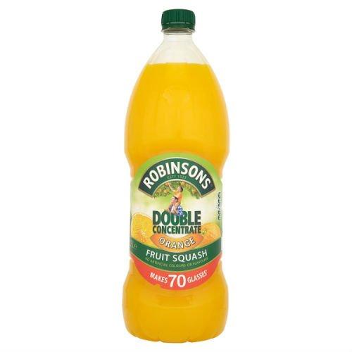Robinsons Double Concentrate Orange Fruit Squash 1.75L