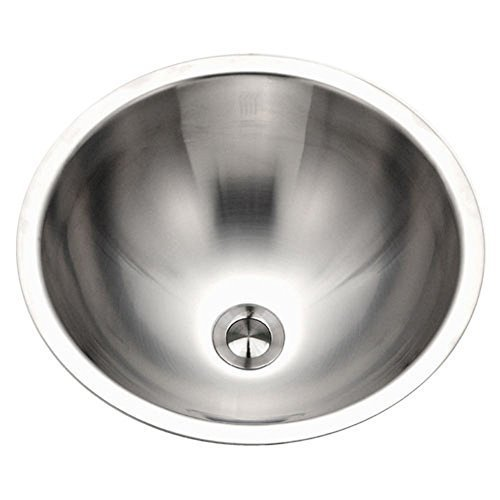 Houzer CRT-1620-1 Opus Conical Topmount Stainless Steel Bowl Lavatory Sink by ()