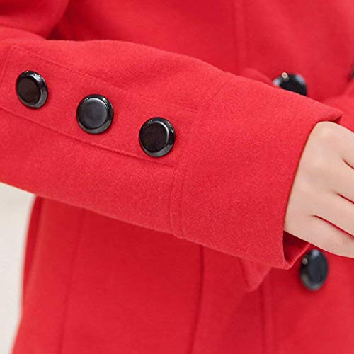 Doble Abrigos Larga Outerwear Mujer Botonadura Con Moda Elegante Manga Otoño Vintage Cuello Cazadoras Stand Fiesta Primavera Gabardina Parkas Retro Amarillo Cinturón 6qStx