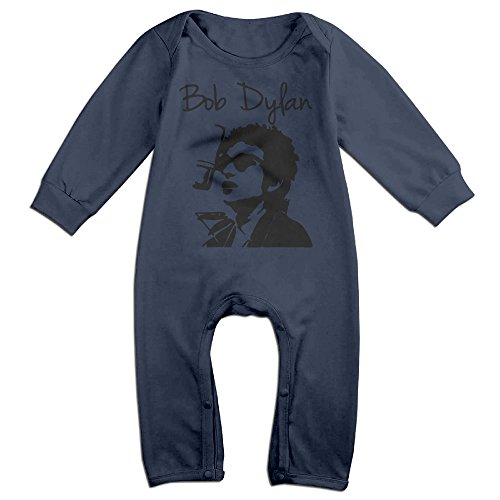 Toddler Bodysuit Outfits Bob Dylan Harmonica Printed Long Sleeve Clothes