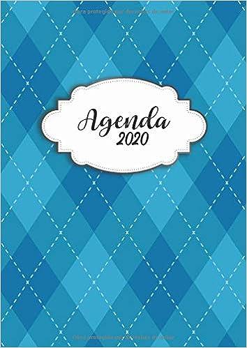 Amazon.com: Agenda 2020: Tema Diseno Moderno Agenda Mensual ...