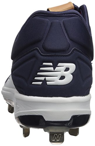 Scarpa Da Baseball In Metallo New Balance Mens L3000v3 Blu Navy / Bianca
