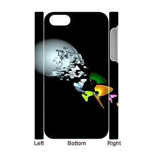 3d butterflies iPhone 4 4s Cell Phone Case 3D White yyfD-329966