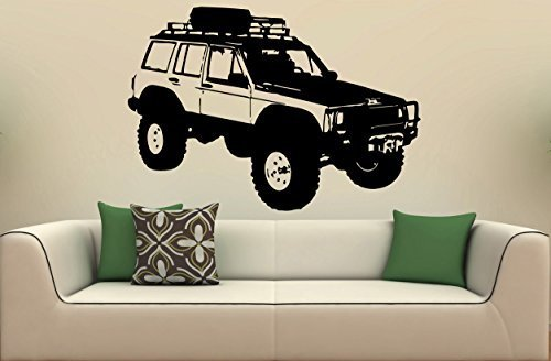 Vinyl Decal Mural Sticker Car Jeep Cherokee S - Boys Chino Cherokee