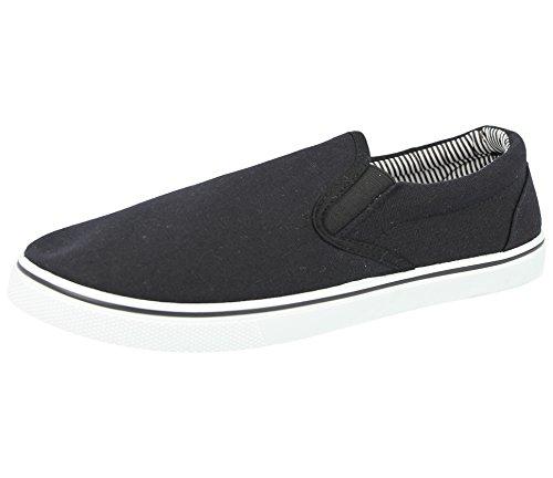 numeri espadrillas scarpe dal antiscivolo uomo 5 al Black disponibili mocassino da 47 ideali a abbinare da ideali modello Scarpe casual nei all'abbigliamento ginnastica 40 da tUwzwF