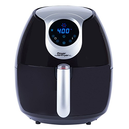 Power Air Fryer XL COMINHKPR129421 5.3 Quart, QT, Black