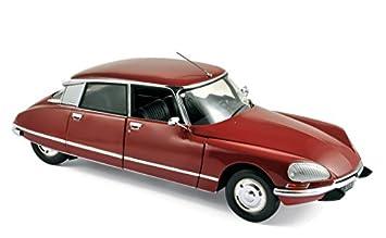 Norev - 181568 - Coche Miniatura Citroën DS 23 Pallas - 1973 - Escala a 1/18 - Granate: Amazon.es: Juguetes y juegos