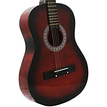 38 coffee acoustic guitar starter package guitar gig bag strap directlycheap. Black Bedroom Furniture Sets. Home Design Ideas