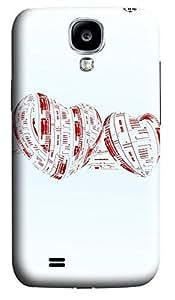 Samsung S4 Case Blurred Heart 3D Custom Samsung S4 Case Cover wangjiang maoyi