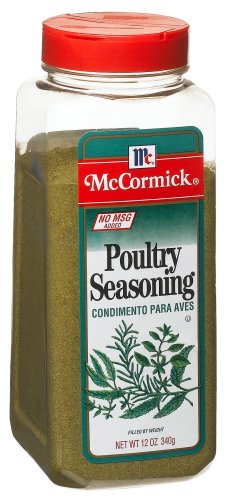 McCormick Poultry Seasoning, 12-Ounce Units (Pack of 2)