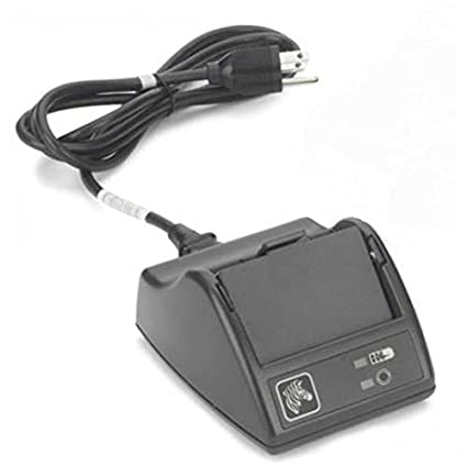 Zebra P1031365-065 - Cargador (Negro, Cargador de baterías para Interior, Ión