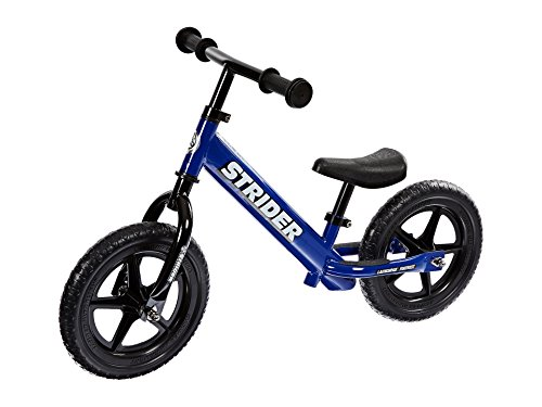 Strider - 12 Classic No-Pedal Balance Bike, Ages 18 Months to 3 Years, Blue