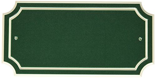 Distinction 848895 Address Plaque, Green by The Hillman Group