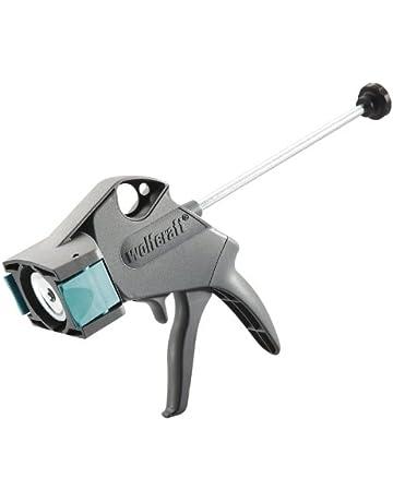 Wolfcraft 4355000 4355000-1 Pistola mecánica MG 300 con función Anti Goteo automática, para