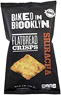 product image for Baked In Brooklyn, Flatbread Crisps, Sriracha, 6 oz (Pack of 4)