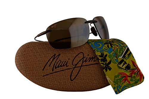 Maui Jim Olowalu Sunglasses Rootbeer Cooper w/Polarized Bronze Lens - Maui Warranty Jim Scratch