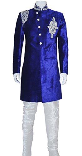 Men's Indian Indo Western Sherwani 2pc Suit (Worldwide Po...